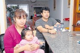 Fabián Herrera y María Elena esperan datos de su hija Sofía