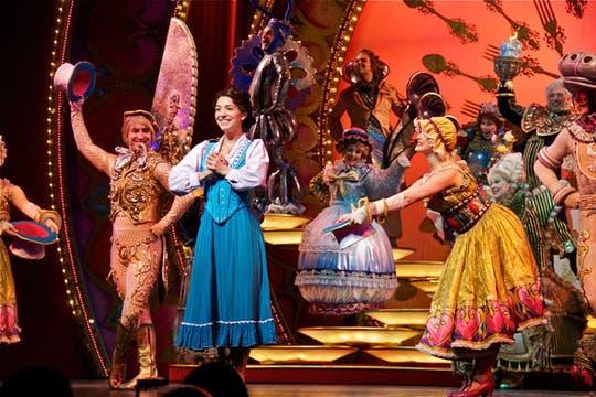Basado en el clásico de Disney, el show fue visto por 34 millones de personas en todo el mundo.. Foto: .Tiff