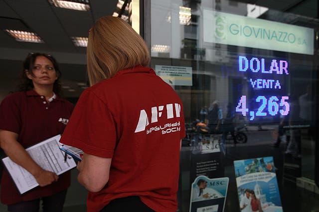 Rigurosos controles de la AFIP en casas de cambio de la city porteña