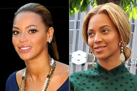 Aunque es raro verla mucha producción, Beyonce optó por un look natural para ir a almorzar en París. Foto: Archivo