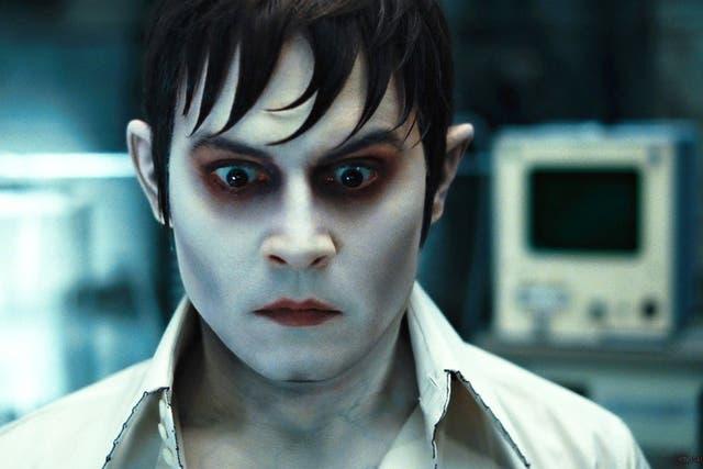 Johnny Depp, en la última película de Tim Burton
