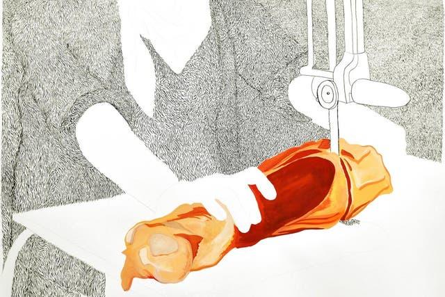 Carne, de la serie Despierta desvelo, de Viviana Blanco