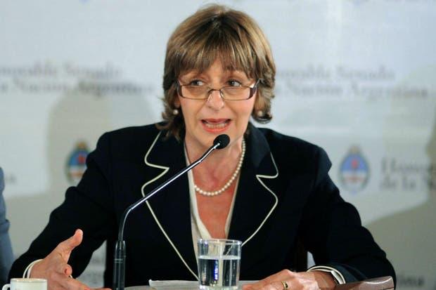La procuradora general de la Nación, Alejandra Gils Carbó