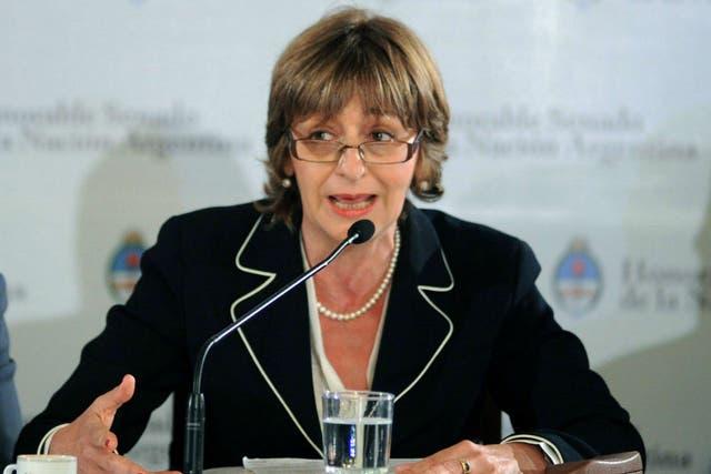 La procuradora general, Alejandra Gils Carbó, fue designada en 2012