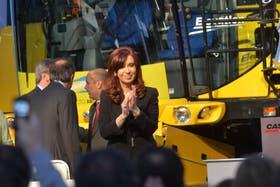 Cristina protagonizó un acto en la Fiat de Córdoba