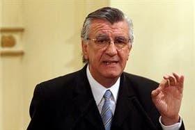 El gobernador de San Juan, José Luis Gioja