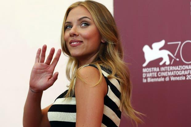 Scarlett Johansson, premiada en el Festival de Cine de Roma por su voz en el film Her