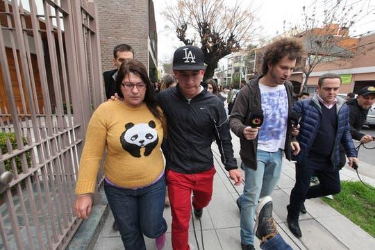 El padre de Tevez fue liberado tras permanecer secuestrado durante unas ocho horas. Foto: LA NACION / Ricardo Pristupluk