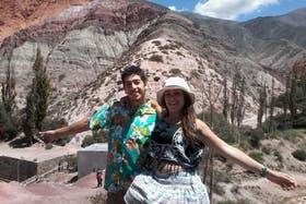 Elías y Johanna ahorraron durante un año para viajar a Bolivia
