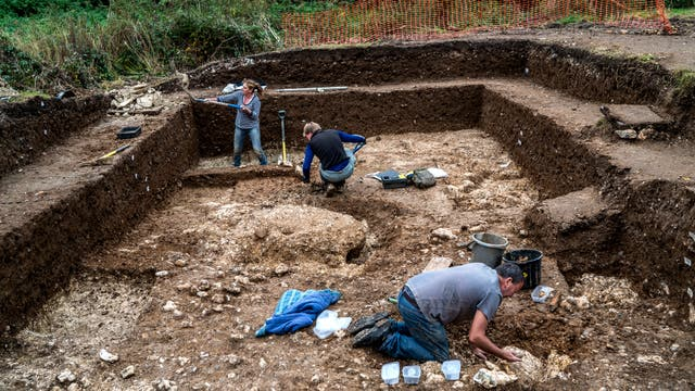 Blick Mead, el sitio arqueológico a dos kilómetros de Stonehenge, en Amesbury (Andrew Testa/The New York Times)