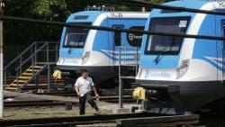 El tren Sarmiento, una de las líneas interrumpidas desde la madrugada