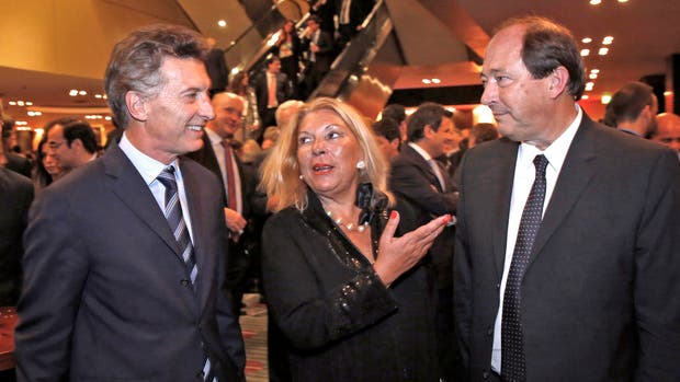Macri, Carrió y Sanz protagonizarán hoy el relanzamiento de Cambiemos