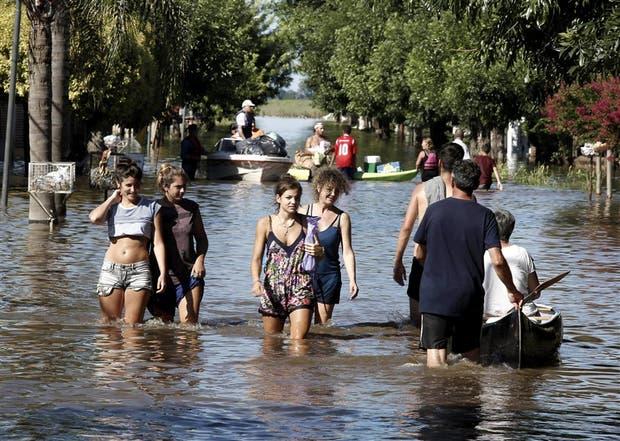 En La Emilia fueron evacuadas alrededor de 6500 personas