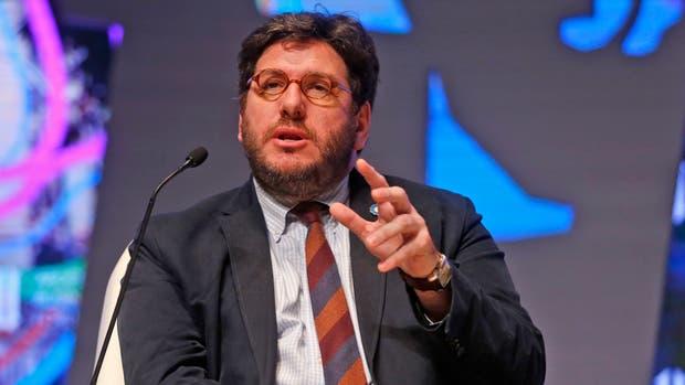 El ministro de Cultura, Pablo Avelluto