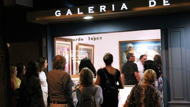 El circuito de Gallery Nights