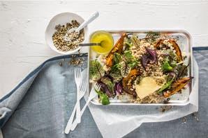 Ensalada tibia de zapallo: un plato liviano y sabroso, ideal para los días fríos
