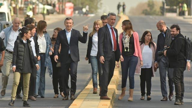 Resultado de imagen para Macri y Vidal en San Miguel