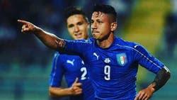Lapadula jugó sólo un amistoso con Italia: le metió tres goles a San Marino