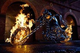 Ghost Rider saltó del cómic a la pantalla grande