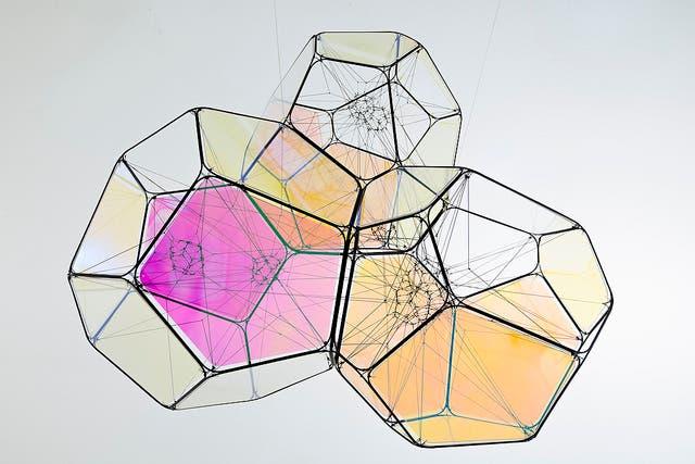 Obra de Tomás Saraceno que presentará la galería Esther Schipper en arteBA