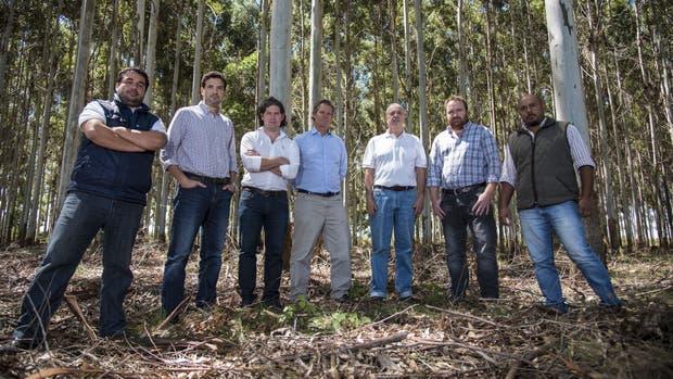 Marco Mendoza, Ariel González, Agustín Dranovsky, Marcos Pereda, Gustavo Cetrángolo, Matías Krumrick y Bruno Acevedo