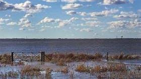 Hay miles de hectáreas bajo el agua en la región