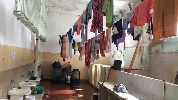 Las condiciones de higiene detectadas fueron cuestionadas por los funcionarios que participaron de la inspección. Foto: Gentileza Sistema Interinstitucional de Control de Cárceles