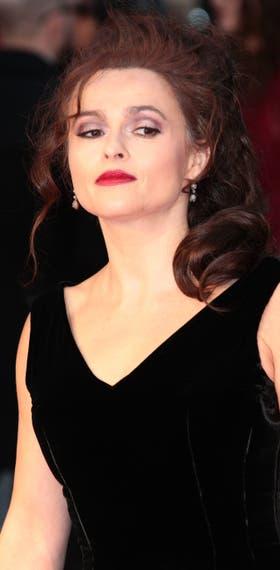 La actriz británica, al natural