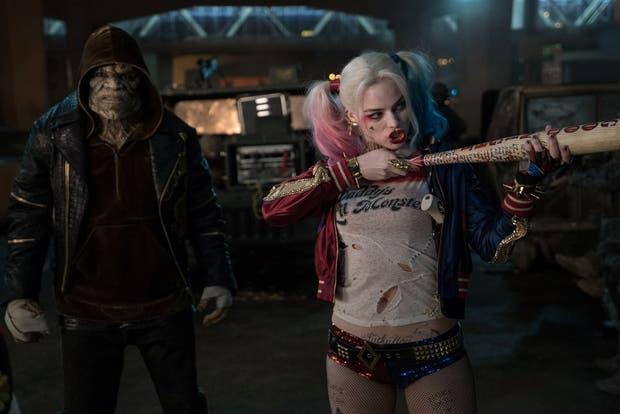 Croc y Harley Quinn, integrantes del escuadrón