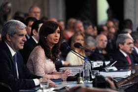 Cristina Kirchner atacó a la Justicia durante la inauguración de sesiones ordinarias en el Congreso