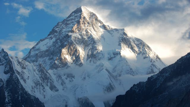 El K2 desde el norte