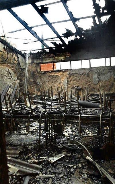 Moreno. Incendio intencional de la escuela N° 27, hace dos meses; cuatro aulas quedaron destruidas