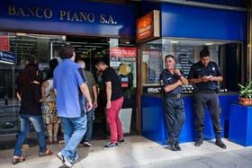 Casi no hubo operaciones cambiarias en la city porteña