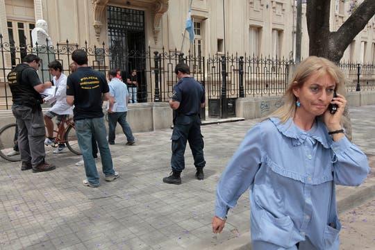 La preocupación hizo que el ministro de Justicia y Seguridad bonaerense, Ricardo Casal, dispusiera la alerta general. Foto: LA NACION / Jorge Bosch