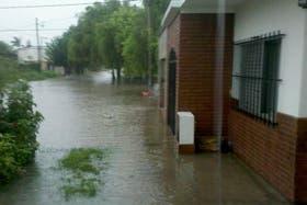 El barrio Los Ángeles, inundado
