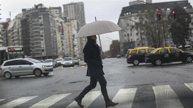 Pronóstico del tiempo: probabilidad de lluvias y la máxima será de 21 grados