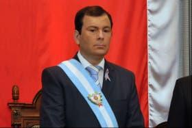 El gobernador de Santiago del Estero, el radical K Gerardo Zamora