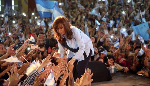 Cristina Kirchner alertó que la salud pública se está desplomando