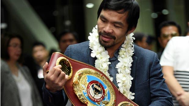Manny Pacquiao lanzó una encuesta en Twitter para elegir a su próximo rival