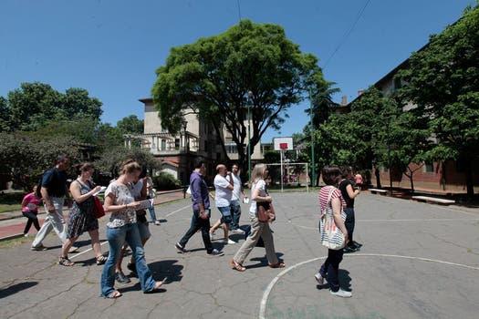 Barrio Los Andes en Chacarita. Foto: LA NACION / Soledad Aznarez