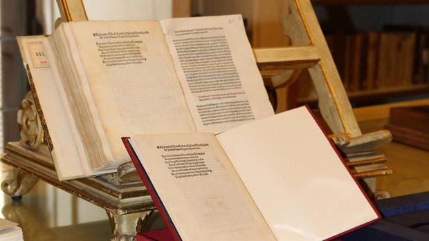 La carta encontrada por la Policía Italiana escrita por Cristóbal Colón en 1493
