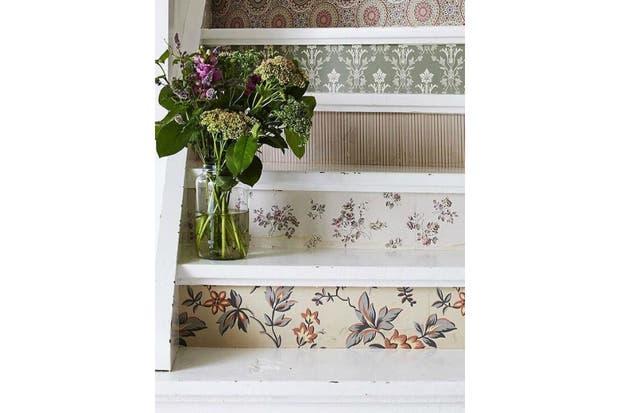 En la escalera, ¿por qué no?.  /Homebnc.com