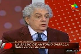 Gasalla contó todo sobre su enfermedad