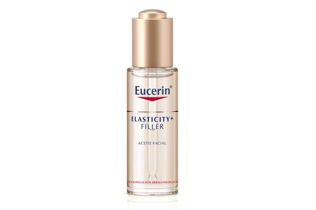 Elasticity filler, mejora la elasticidad y genera un efecto relleno anti-arrugas. $715, Eucerin.