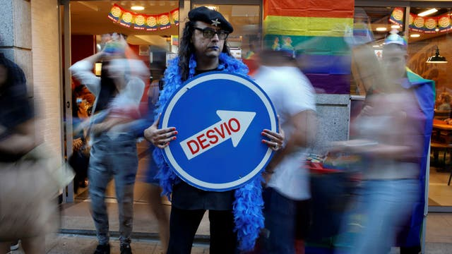 La marcha del orgullo gay en Madrid