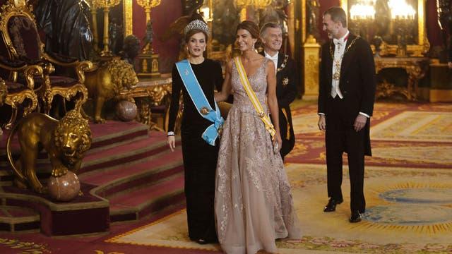 Juliana Awada y la reina Letizia