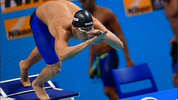 Martín Naidich dio positivo en el Mundial de Natación