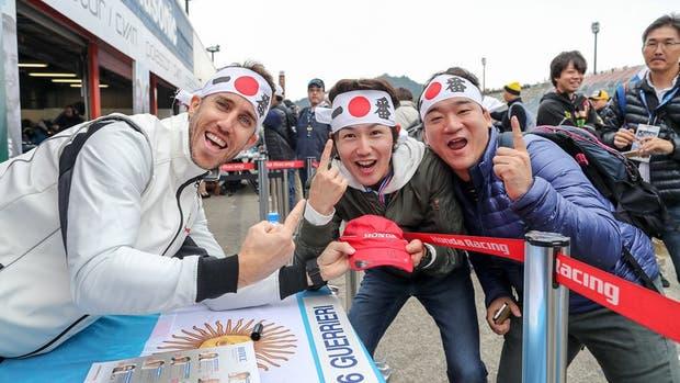 Esteban Guerrieri festejó el tercer puesto en Motegi
