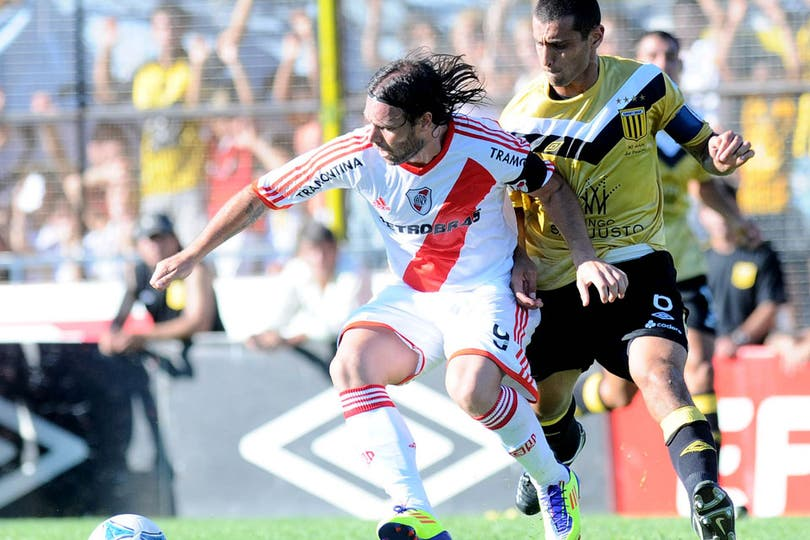 Las mejores fotos del empate 1 a 1 entre Almirante Brown y River. Foto: DyN