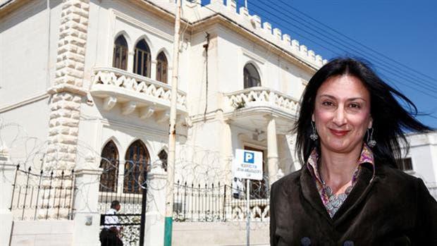 Daphne Caruana Galizia fue asesinada ayer por la tarde.